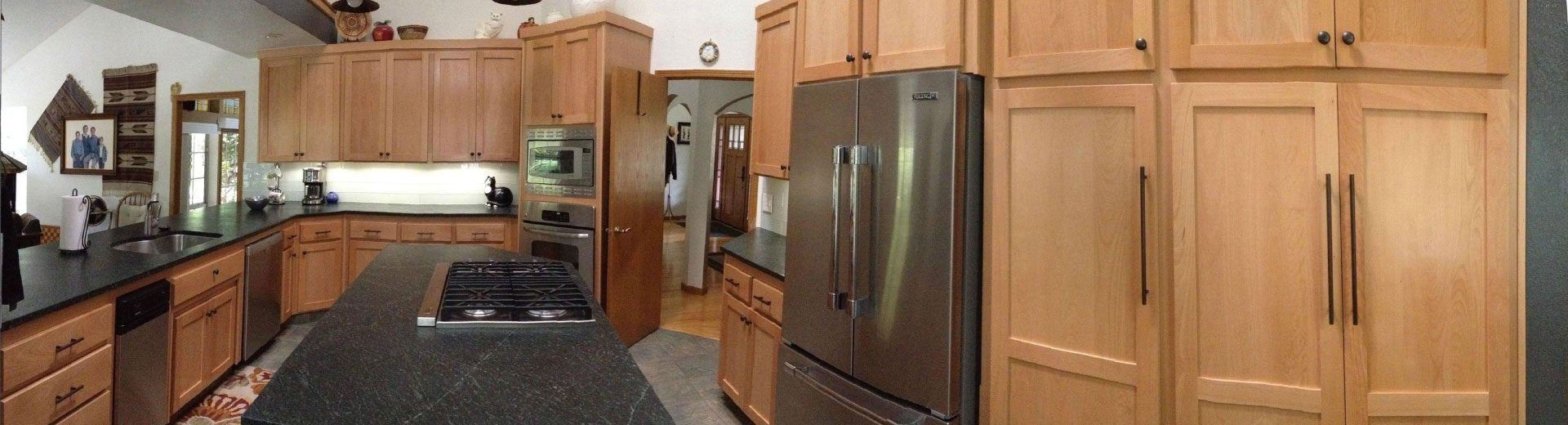 Kitchen cabinets cramer 39 s installations unlimited 209 for Bruce kitchen cabinets