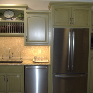 Kitchen Cabinets RP Paint Grade Material